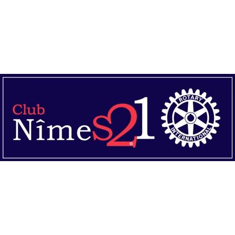 Bâche du Rotary Club Nîmes 21
